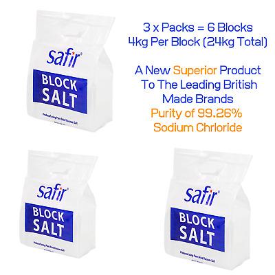 Water Softener Salt-Harveys Block Salt 30 packs 60 blocks delivered
