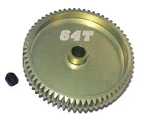 3RAC-PG6464 Integy 64 Pitch Pinion Gear 64T 7075 w// Hard Coating
