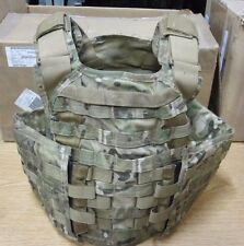 USED MULTICAM MSA PARACLETE SOHPC SPECIAL OPERATIONS  PLATE CARRIER SIZE LARGE