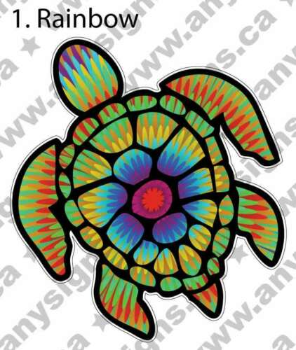 laptop phone window Sea Turtle 9 Colors Vinyl Sticker Vinyl Decal //car bumper