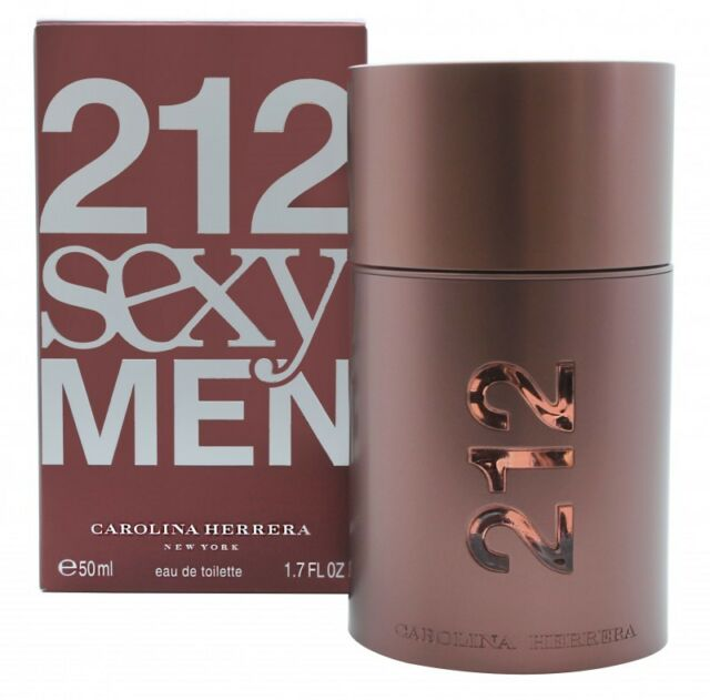 9466e232d CAROLINA HERRERA 212 SEXY MEN EAU DE TOILETTE EDT 50ML SPRAY - MEN'S FOR HIM