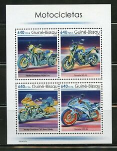 Details about GUINEA BISSAU 2019 MOTORCYCLES SHEET MINT NH