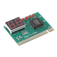 PCI PC Diagnostic 2-Digit Card Motherboard Post Tester Analyzer Checker Laptop F
