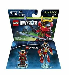 LEGO-DIMENSIONS-The-Movie-Fun-Pack-Ninjago-Nya-Samurai-Mech-71216-59-pcs-NIB