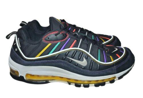 New Nike Air Max 98 Premium 'Martin' Black Crimson