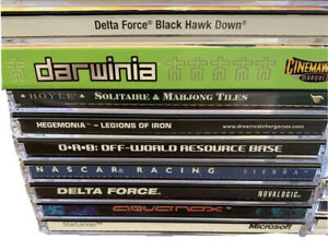 Jewel Case Pc Game Large Lot Of 20 Games