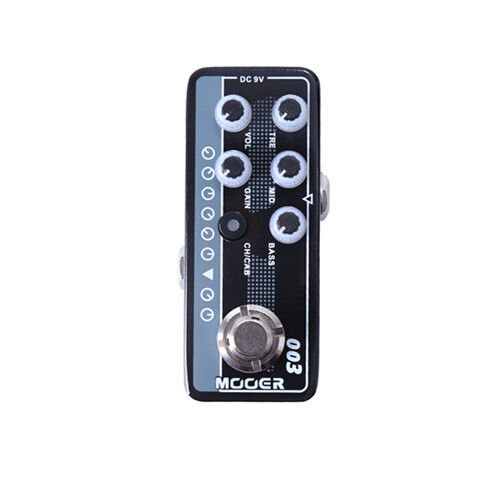 Mooer Power Zone 003 Digital Micro PreAmp Guitar Effects Pedal