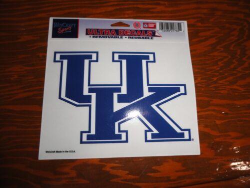 "Kentucky Wildcats NCAA 4/"" x 6/"" Car Window Cling Decal UK WinCraft Sports"