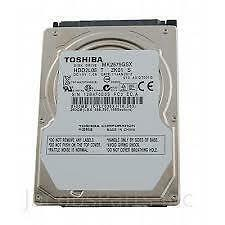 "Toshiba 250GB Internal 5400RPM 2.5"" (MK2575GSX) HDD"