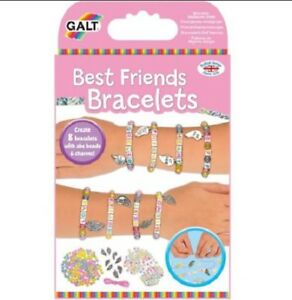 e1df275c832f4 Details about Brand New Galt Best Friends Bracelets Jewellery Craft Kit  Girls Letter Beads