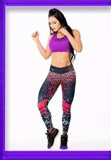 New Colombian Multicolor Sports wear Brand Fit Work Out pants Gym Leggings Fiber