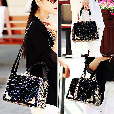 Fashion Women PU Leather Handbag Shoulder Bag Messenger Hobo Satchel Purse Tote