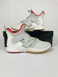 095a1023a25a Nike Lebron Soldier XII Basketball Shoes Light Bone AO2609-002 Mens ...