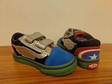 60aa9db1e51 VANS off The Wall Toddler X Marvel Avengers OLDSKOOL V Shoes Size 5 ...