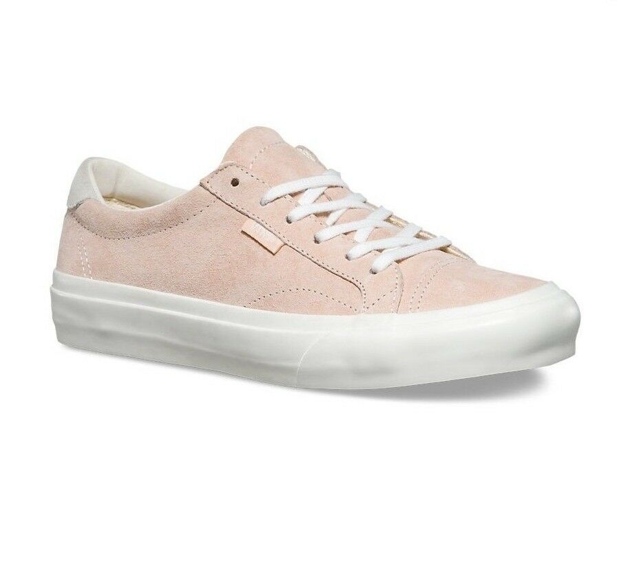 VANS Court DX (Pig Suede) Silver Peony Pink UltraCush WOMEN'S Size 5.5