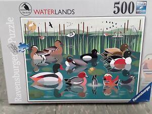 Ravensburger WATERLANDS I like birds 500 pcs jigsaw puzzle