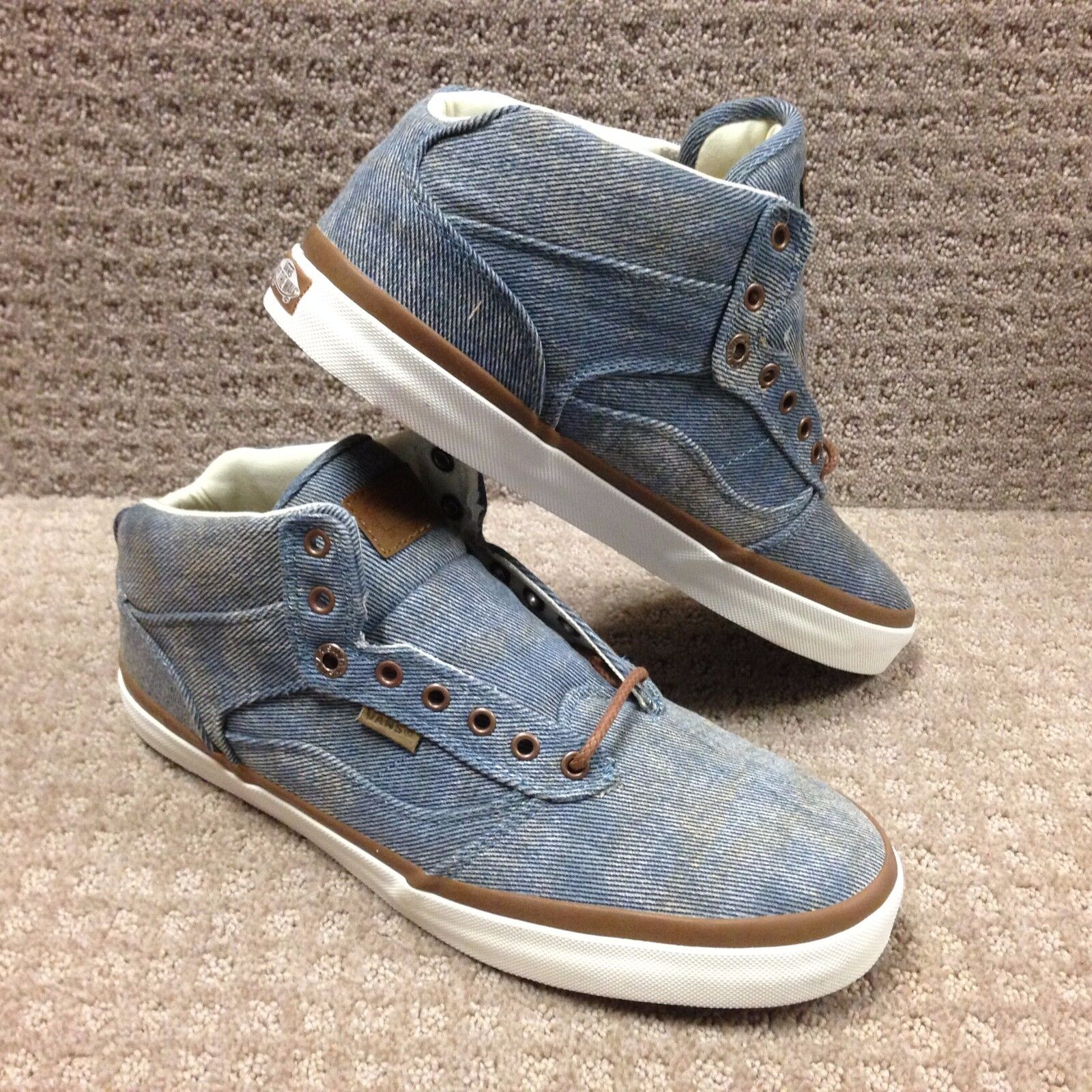 Vans Men's shoes  Bedford +   (Acid Denim) bluee