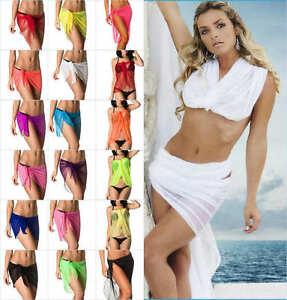 6f7133d189 COQUETA SALE BEACH WOMEN SEXY COVER UP SARONG WRAP PAREO BIKINI ...