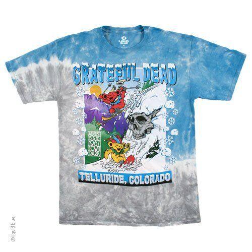 XL L Grateful Dead Bear Mountain M 2XL Tie Dye T-Shirt