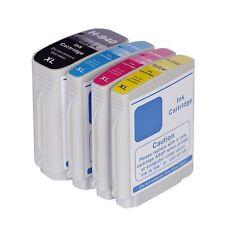 4 NON-OEM 940XL INK CARTRIDGES HP OFFICEJET PRO 8000 8500 8500A HP940 W CHIP