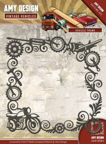 Amy Design  Cutting /& Embossing Die VEHICLE FRAME ADD10094
