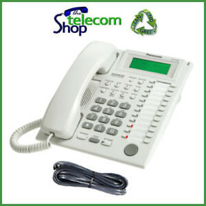 panasonic kx t7735 telephone in white ebay rh ebay ie Panasonic Phone Manual User Guide 2.4 GHz Panasonic KX-TG2632