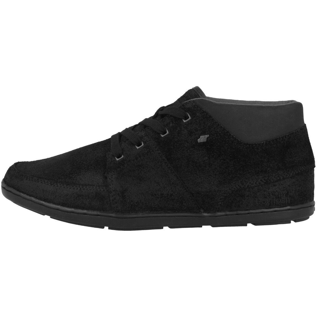 Boxfresh Cluff CH Waxed Suede Schuhe High Top Sneaker Mid Cut Sneakers E15425
