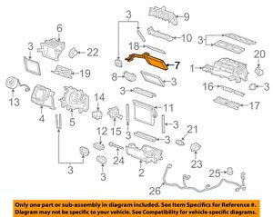 Engine Cooling & Climate Control 92215200 Camaro New HVAC Heater ...