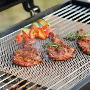MINTIML GRILL MAT BBQ Grill Mesh Mat Non-Stick Cooking Sheet Liner