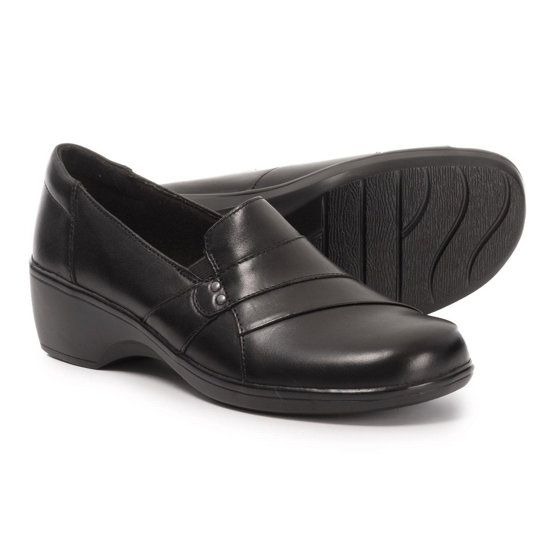 Senza tasse Clarks 62909 May Marioro Donna  nero nero nero Leather Slip-on scarpe 7 Medium  Sconto del 60%