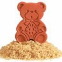 Brown Sugar Saver Bear Disk (2) Piece Set Keeps Sugar Soft