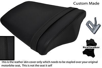 BLACK CUSTOM TRIUMPH FITS DAYTONA 675 06-12 REAR PILLION SEAT COVER