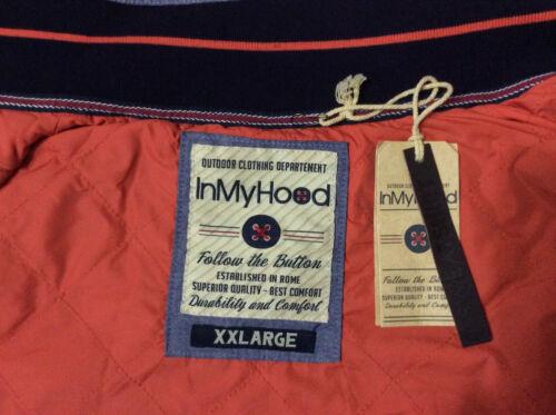 Zip Hood Xxl 20 Taglia Navy Chiusura My In Blu Felpa Colore w5qv4AvxXT