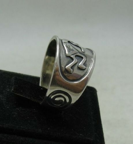 Sterling Silver Ring mexicain Bande Solide 925 Neuf Taille 5-13 EMPRESS