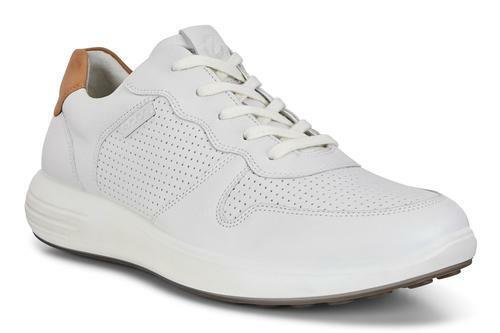Ecco Soft 7 Runner White-Lion Men's
