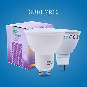 Ampoules-LED-reflecteur-GU10-mr16-5w-3w-smd-Lustre-lumiere-blanc-chaud-blanc