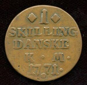 1771-Denmark-Christian-VII-1-Skilling