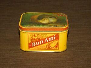 VINTAGE-KITCHEN-2-3-8-034-HIGH-BON-AMI-SOAP-TIN-CAN-EMPTY