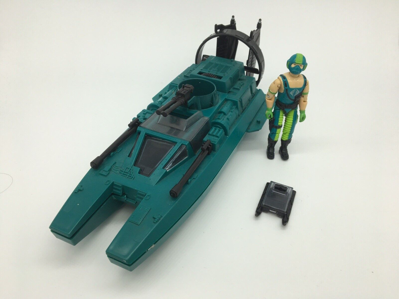 Action Force G I Joe Cobra Water Moccasin, COPPERHEAD, BOAT, 1980S, VINTAGE, TOY