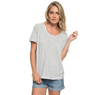 NEW ROXY™  Womens Just Simple Striped T Shirt