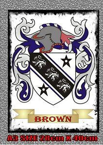 Family-Tree-Coat-of-Arms-Surname-Metal-Vintage-style-Metal-Wall-Hanging-Plaque