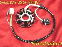 Stator, 8 Coil 4 Wire, Dc Fired, 50 50cc Gy6 Honda Chinese European Scooter Atv