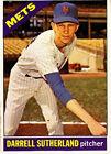 1966 Topps Venezuelan Darrell Sutherland New York Mets #191 Baseball Card
