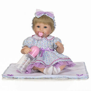 16-039-039-Lifelike-Reborn-Baby-Girl-Doll-Realistic-Vinyl-Handmade-Baby-Dolls-Newborn