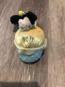Mickey Mouse Tsum Tsum Plush Scented Birthday Cupcake 2017