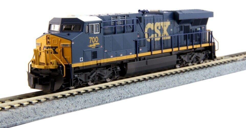 Kato 176-8928 N Locomotora Gemini exclusivo ES44AC estación, CSX  700 (futuro oscuro, azul, amarillo)