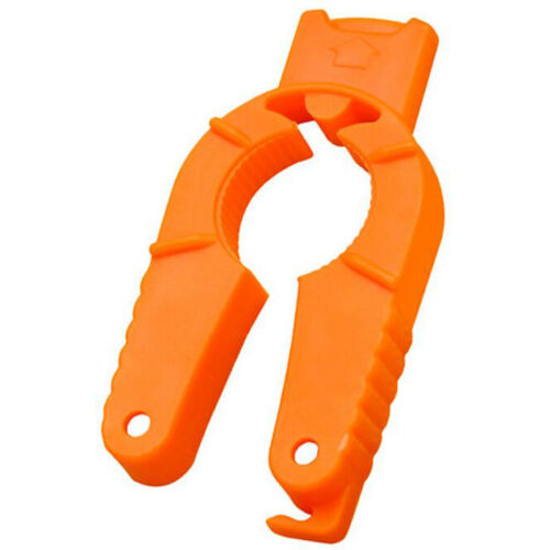 BIN Orange Handy Rubber Grip Container Bottle Jar Multi-functional Can