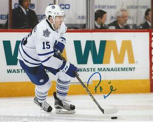 Toronto-Maple-Leafs-Pierre-PA-Parenteau-Signed-Autographed-8x10-Photo-COA-B