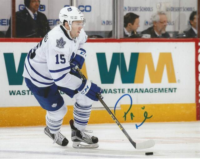 Toronto Maple Leafs Pierre PA Parenteau Signed Autographed 8x10 Photo COA B