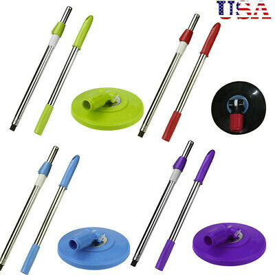 Spin Mop Pole Handle Replacement for Floor Mop 360 No Foot Pedal Version USA